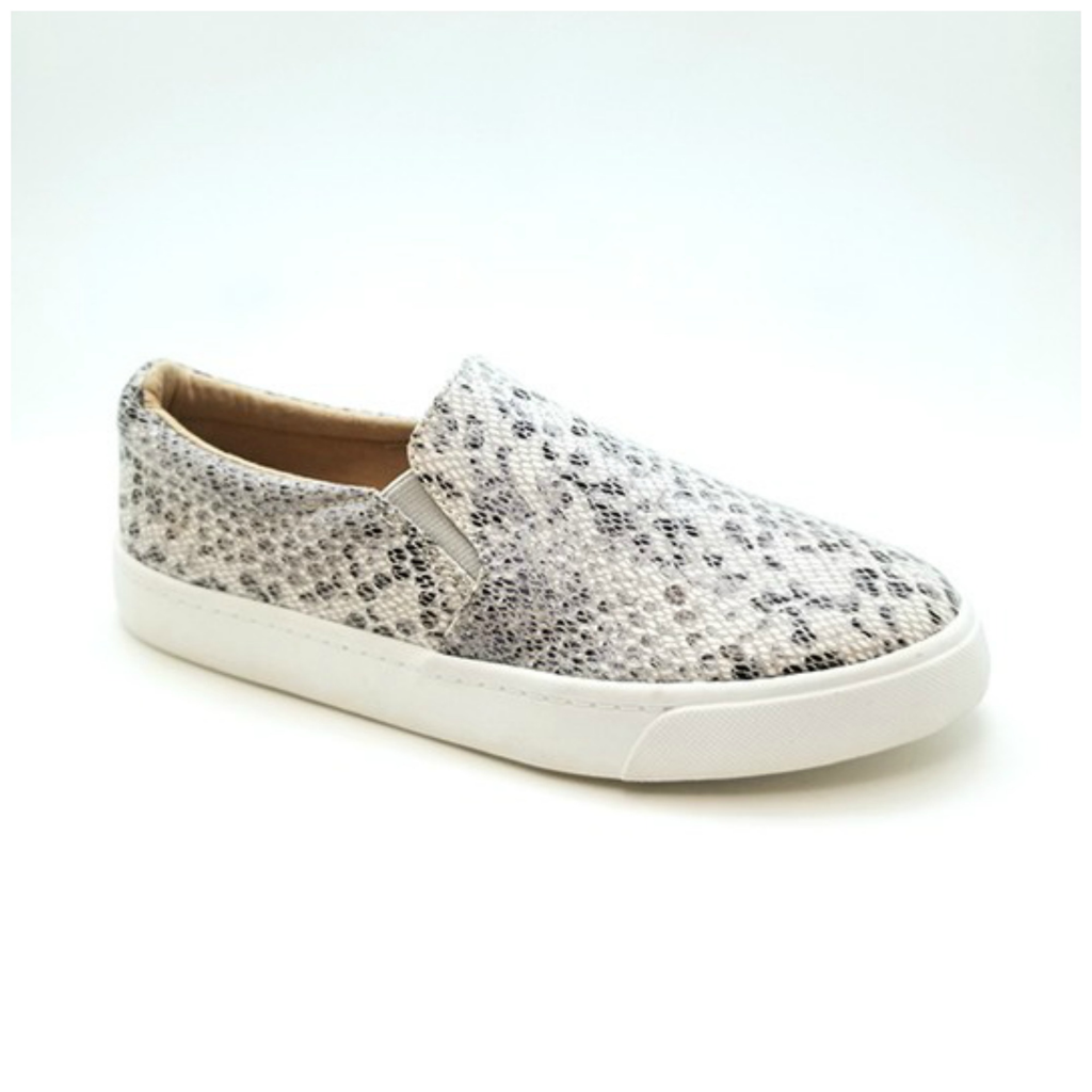 Shoes 54 Python Beige/Grey Sneakers