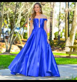 Formals Jovani Take My Breath Royal Blue Formal Dress