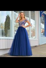 Formalwear Own The Night Navy Formal Dress