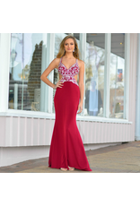 Formalwear Heavenly Hue Burgundy Formal Dress