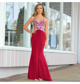 Formalwear Heavenly Hue Burgundy Formal Dress