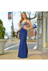 Formalwear Heavenly Hue Navy Formal Dress