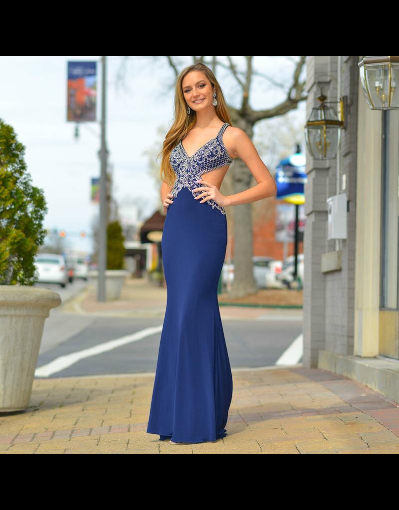 Formalwear Heavenly Hue Navy Formal Dress