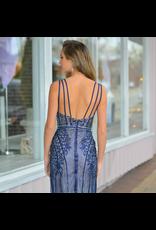 Formalwear Hopeless Romantic Navy Formal Dress