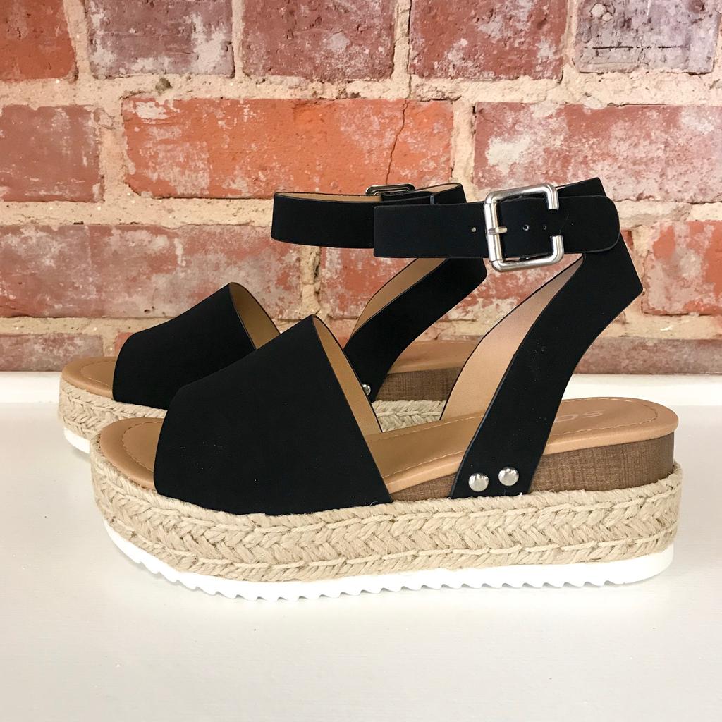 Shoes 54 Hot Topic Black Espadrilles