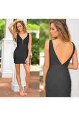 Formalwear Shimmer & Shine Black Party Dress