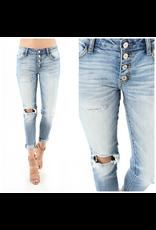 Pants 46 Cute As A Button Medium Wash Denim