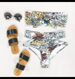 Swimsuits Rove Lotus Print Bikini Bottom