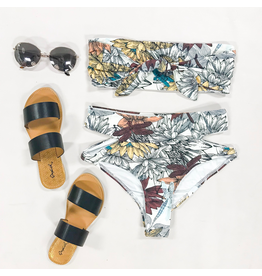 Swimsuits Swell Lotus Print Bikini Top