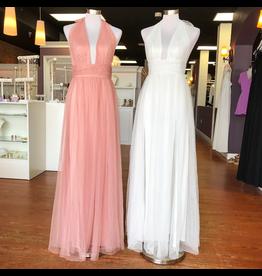 Formalwear Sweet Surrender Blush Pink Tulle Formal Dress