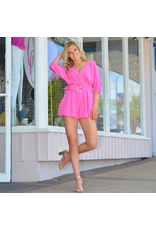 Rompers 48 Romp Around Town Hot Pink Romper