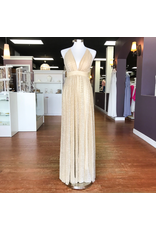 Formalwear Gold Hour Ivory/Gold Formal Dress