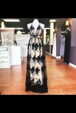 Dresses 22 Ever After Matters Black/Nude Tulle Formal Dress