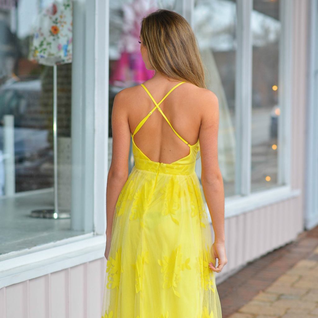 Dresses 22 Ever After Matters Yellow Tulle Dress