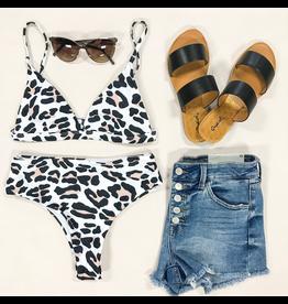 Tops 66 Leopard Bikini Top