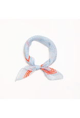 Accessories 10 Ditsy Floral Blue Bandana Scarf