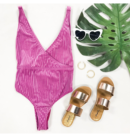 Swimsuits Revibe Raspberry One Piece