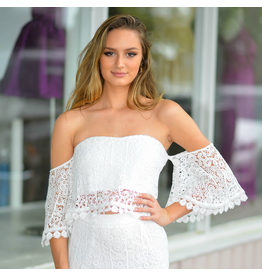 Tops 66 Summer Love White Crochet Top