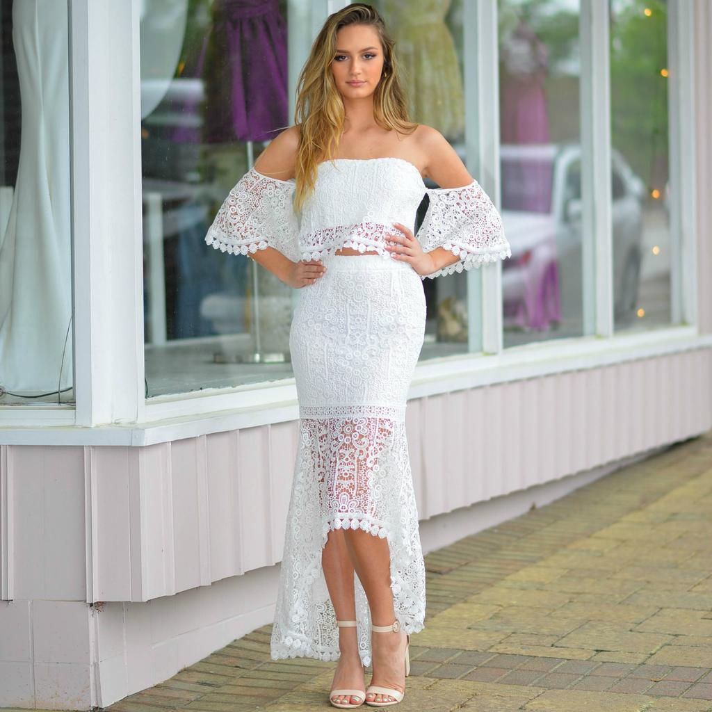 Skirts 62 Summer Love White Crochet Skirt