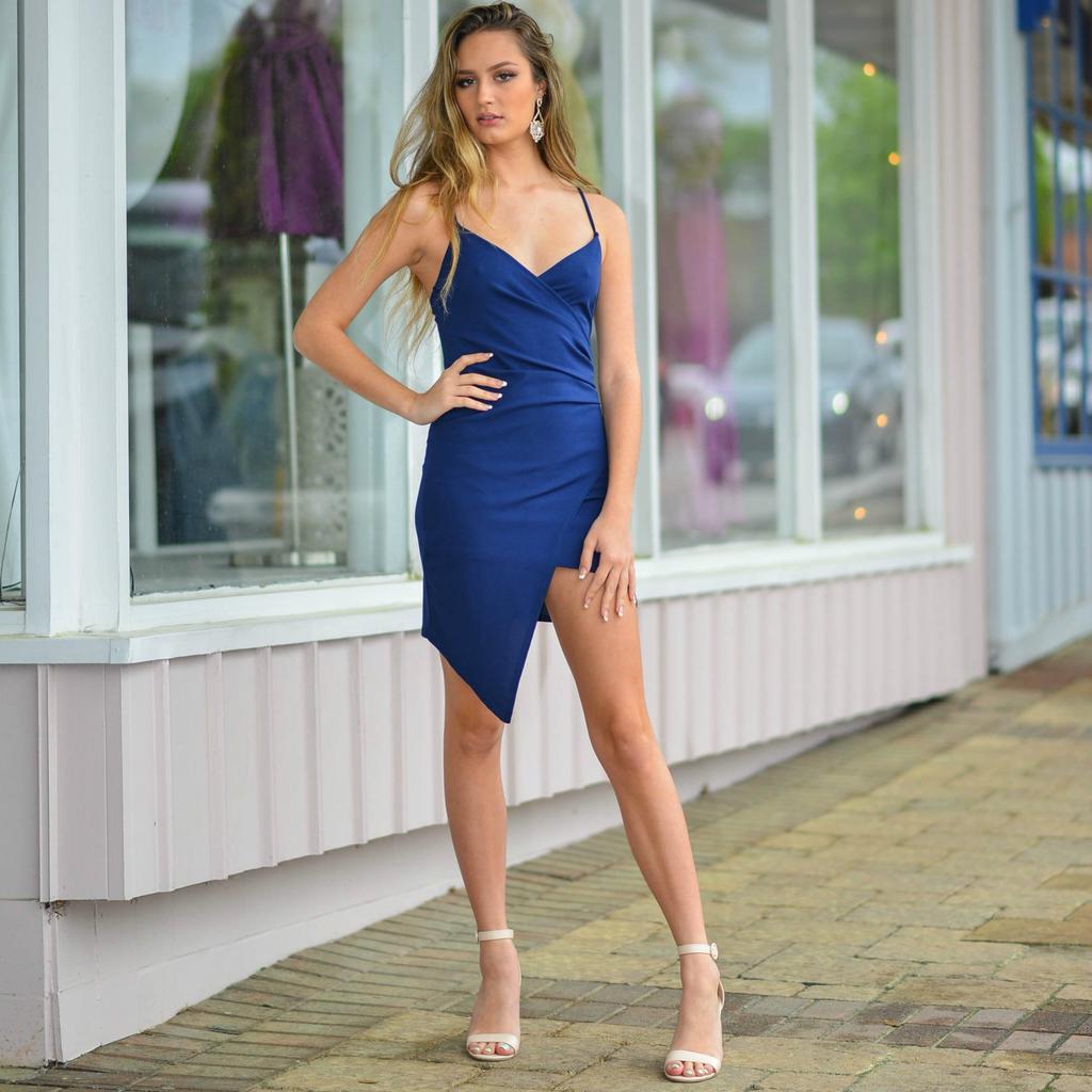 Dresses 22 Dream On Navy Dress