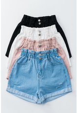 Shorts 58 Bring On Summer High Waist Denim Shorts
