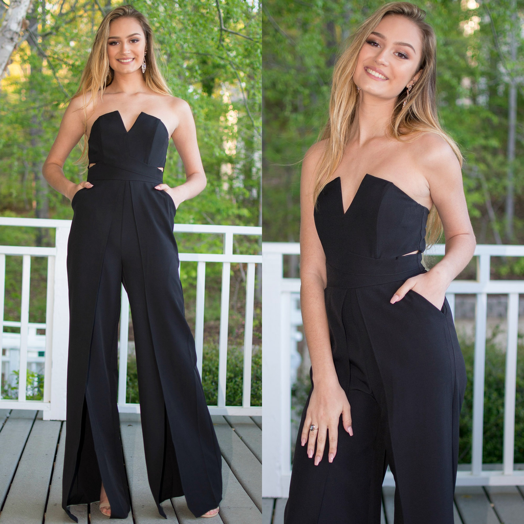 Jumpsuit Best Impressions Black Jumpsuit