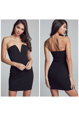 Dresses 22 Night To Remember Deep V LBD
