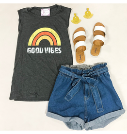 Tops 66 Good Vibes Tank