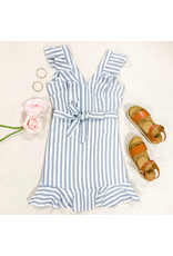 Dresses 22 Picnic In The Park Ruffle & Stripe Dress