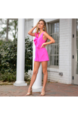 Rompers 48 Reason To Ruffle Hot Pink Romper