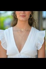 Jewelry 34 Layer Pastel Stone Necklace