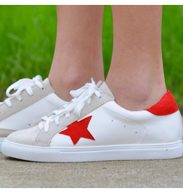 Shoes 54 You're A Star Red Sneakers