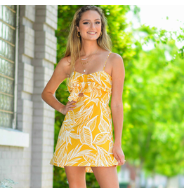Dresses 22 Hello Sunshine Yellow Floral Dress