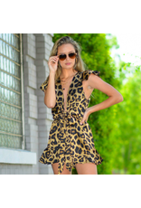 Rompers 48 Cat's Meow Leopard Ruffle Romper