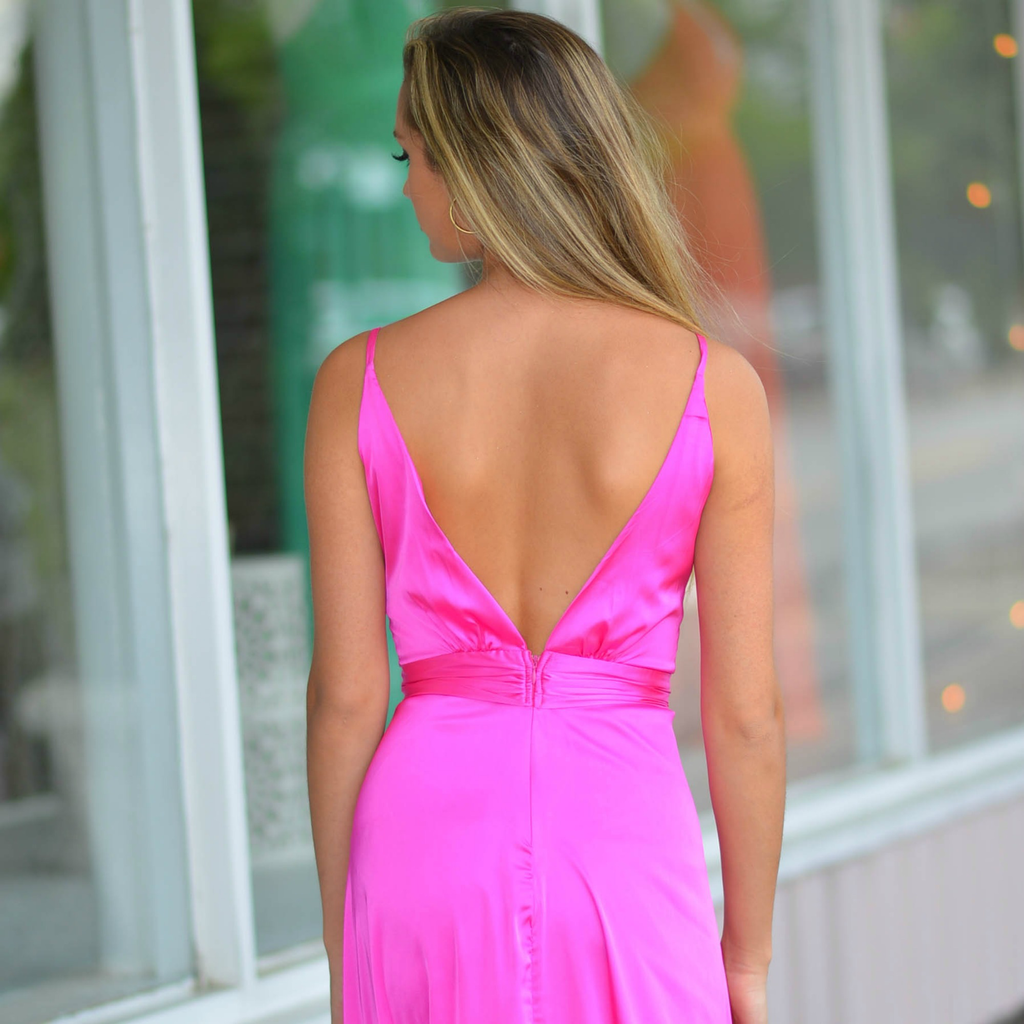Dresses 22 So Stunning In Satin Raspberry Formal Dress
