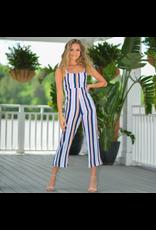 Jumpsuit Celebrate Summer In Stripes Jumpsuit