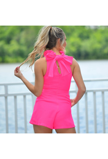 Rompers 48 Party This Way Ruffle Hot Pink Romper