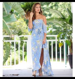 Dresses 22 Lola Floral Off Shoulder Maxi