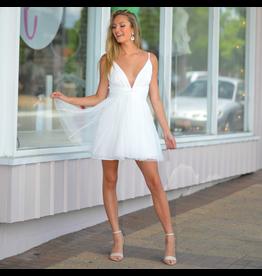 Dresses 22 Tulle Time White Formal Dress