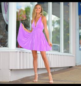 Dresses 22 Dream And Gleam Purple Pleated Formal Dress