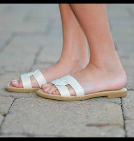 Shoes 54 Slide Into Summer Natural Sandal