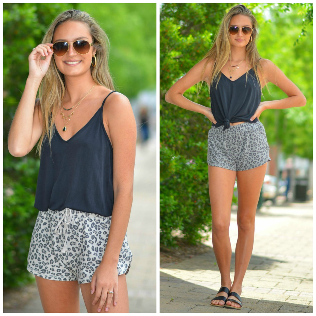 Shorts 58 Soft & Comfy Leopard Shorts