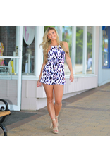 Rompers 48 Wild At Heart Colorful Leopard Romper
