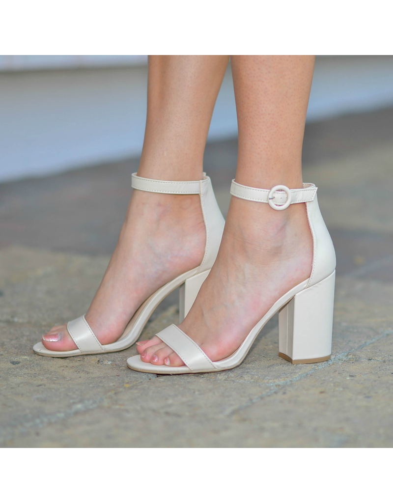 Shoes 54 Nude Essential Block Heel