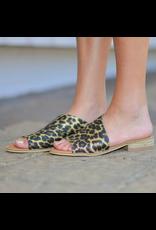 Shoes 54 Slip In Leopard Sandal