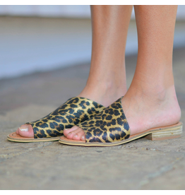Shoes 54 Slip In Leopard Sandal