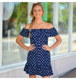 Dresses 22 Star Print Ruffle Dress
