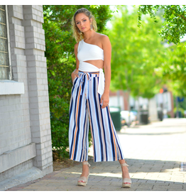 Pants 46 Sail Away Summer Stripe Pants