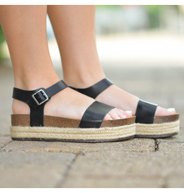 Shoes 54 Meet Me In Cabo Black Espadrilles