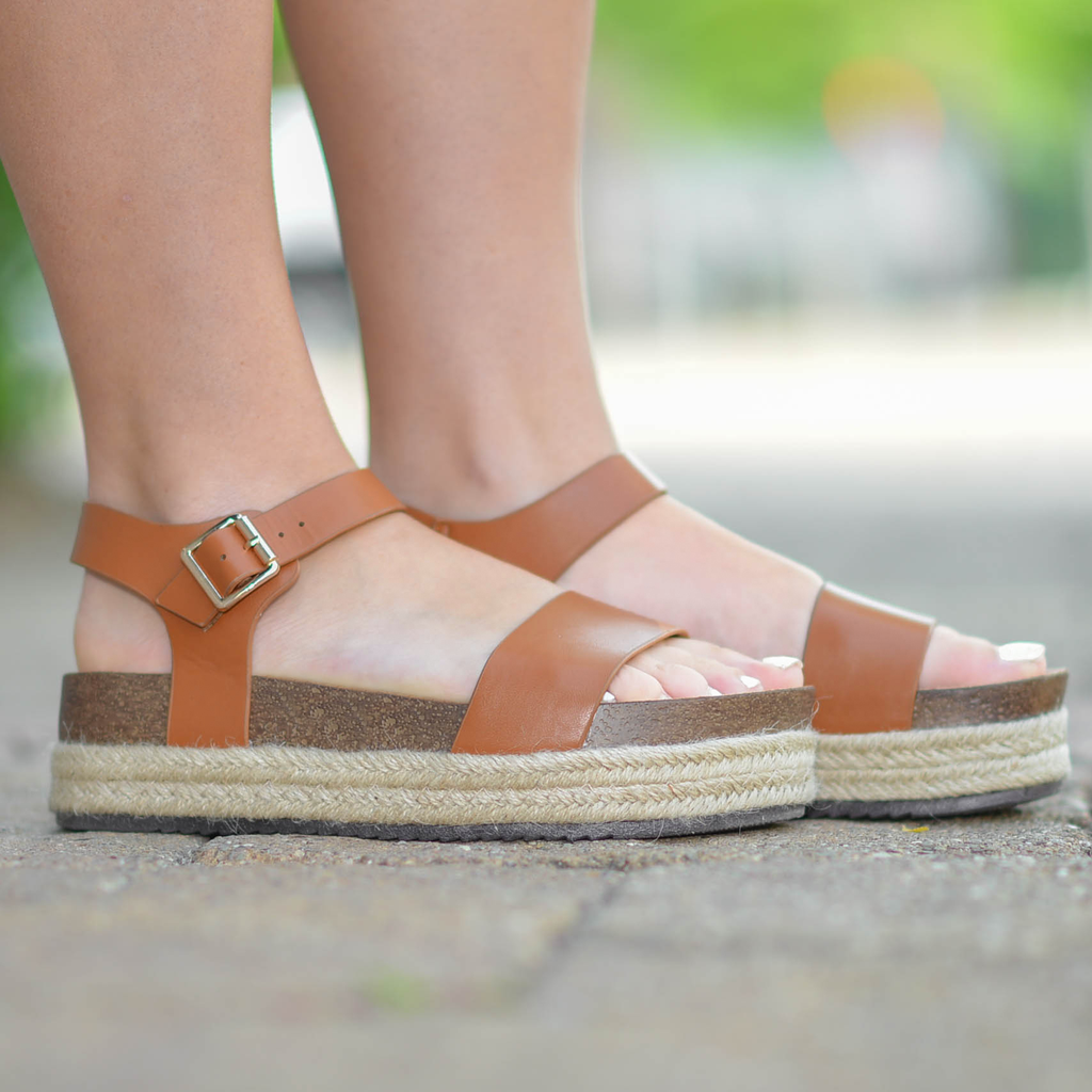 Shoes 54 Meet Me In Cabo Tan Espadrilles